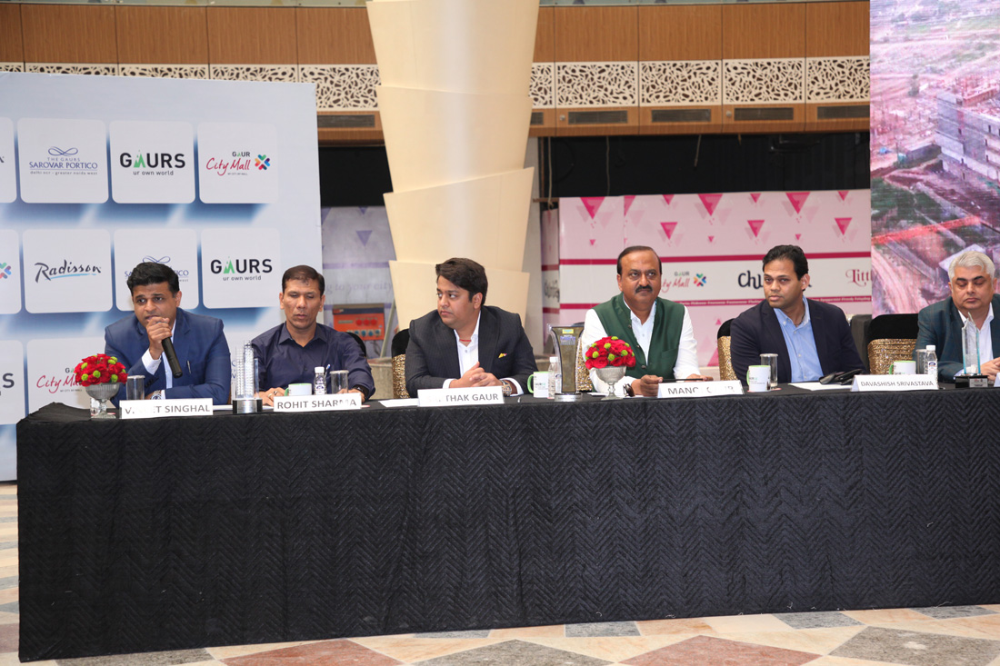 Press Conference at Gaur City Mall- 19th January 2017