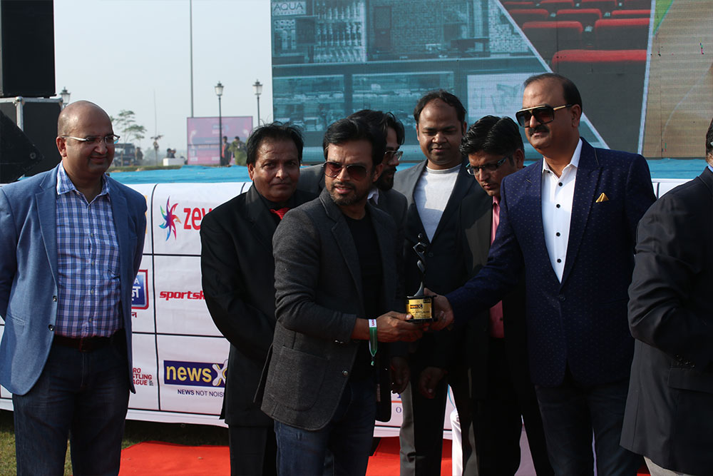 Inauguration of GYC Cricket League
