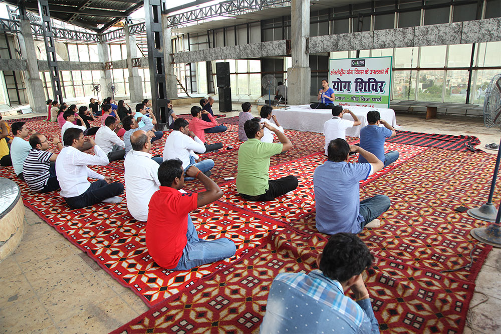 Yoga Day - Corporate Office