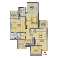 16th Parkview Gaur Yamuna City Floor Plan