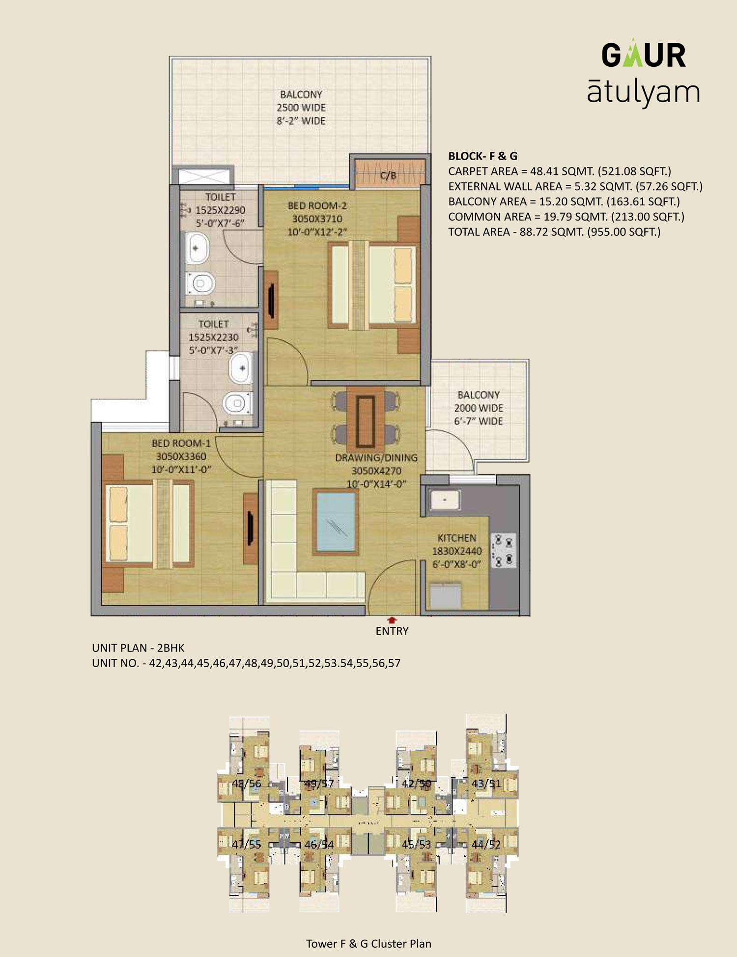 Gaurs Group The Floor Plan At Right Is Only Part Of An Ongoing Electrical Project Apartments In Noida