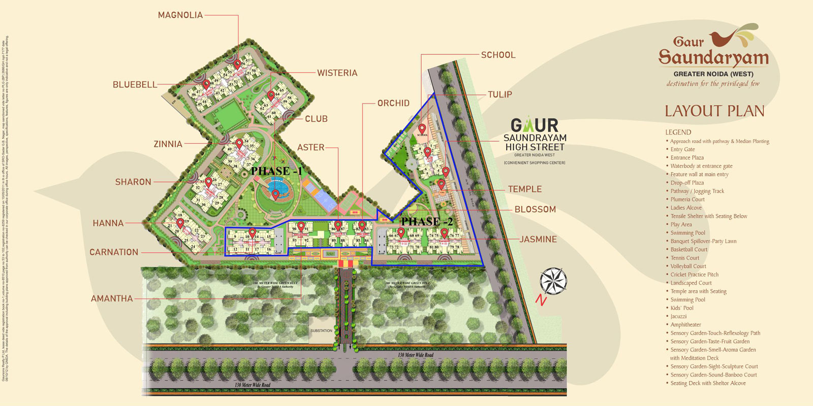Gaurs apartments in Gr. Noida