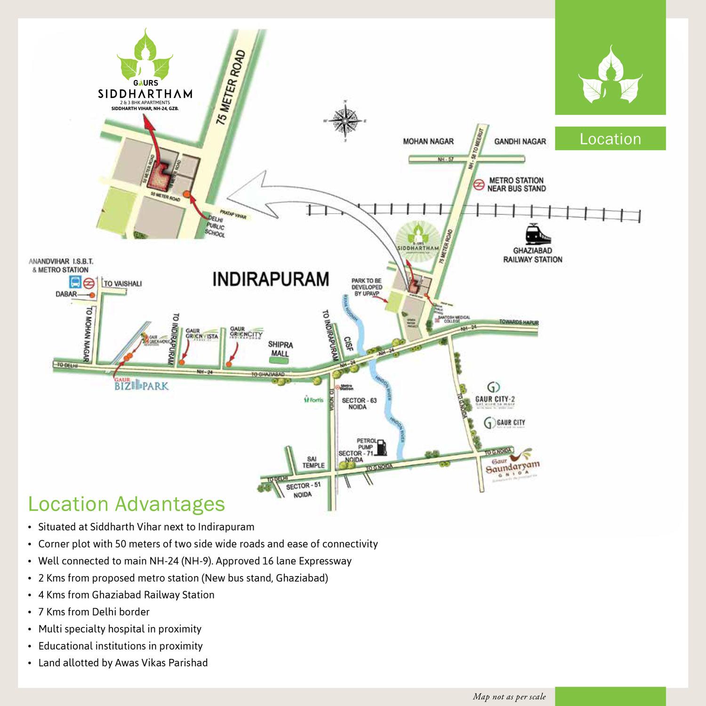 Gaurs Siddhartham – Top 2/3 BHK Luxury Apartments in Ghaziabad, NH-24