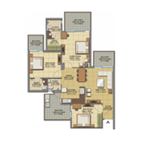 Gaurs apartments in Noida