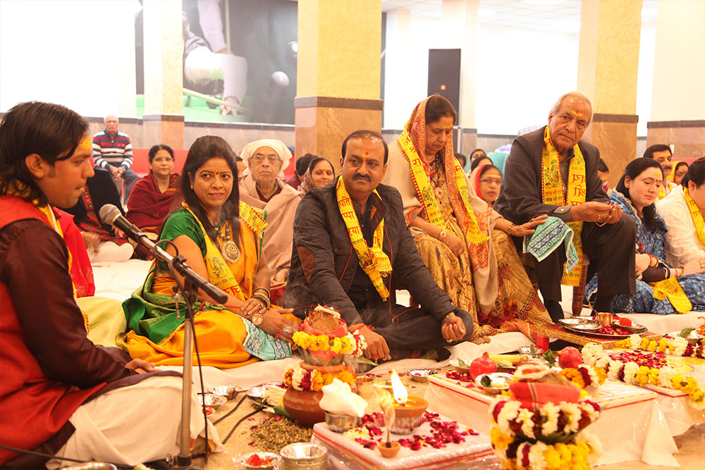 Inauguration of Shri Radha Krishna Temple at Gaur Cascades- 6-02-2017